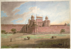 The Lahore Gate of the Delhi Fort
